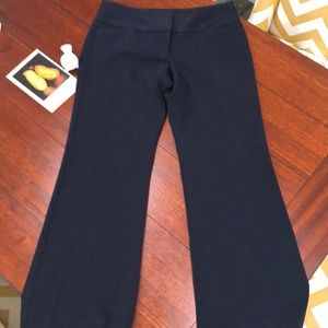 Express Editor wide leg navy pant size 6s